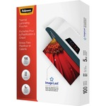 Fellowes Glossy Pouches - Letter, 5 mil, 100 pack FEL52040