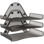 Safco Onyx Triple Tray SAF4177BL