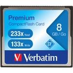 Verbatim Premium 96196 8 GB CompactFlash (CF) Card VER96196