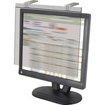 Kantek LCD20WSV Privacy Screen Filter Silver KTKLCD20WSV