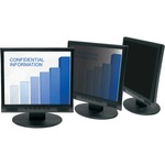 3M Framed Desktop Privacy Computer Filter (5:4) Black MMMPF317