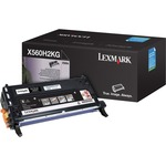 Lexmark High Yield Black Toner Cartridge LEXX560H2KG