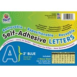 Pacon Colored Self-Adhesive Removable Letters PAC51653