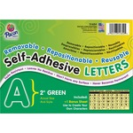 Pacon Colored Self-Adhesive Removable Letters PAC51654