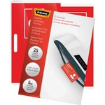 Fellowes Glossy Pouches - ID Tag not punched, 5 mil, 25 pack FEL52007