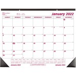 Brownline Monthly Desk/Wall Calendar REDC1731