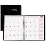 Brownline 14-Month Planner REDCB1200BLK