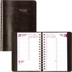Brownline 12-Month Daily Planner REDCB800BLK