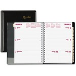 Brownline Refillable Weekly Planner REDCB852BLK