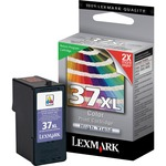 Lexmark No.37XL High Yield Tri-Color Ink Cartridge LEX18C2180
