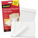 3M Scotch Label Protection Tape Sheet MMM822P