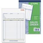 Tops 46320 Sales Order Book TOP46320