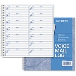 TOPS Voice Message Log Book TOP44165