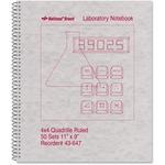 Rediform National Wirebound Laboratory Notebook RED43647