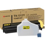 Kyocera Yellow Toner Cartridge KYOTK512Y