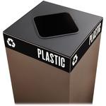 Safco Public Square Container Lid SAF2989BL