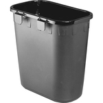 Safco Paper Pitch Waste Receptacle SAF2944BL