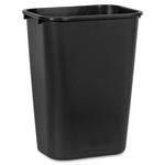 Rubbermaid Standard Deskside Wastebasket RCP295700BK