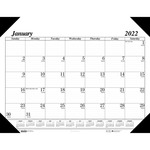 House of Doolittle One-Color Desk Pad Calendar HOD0124