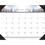 House of Doolittle One-Color Photo Desk Pad Calendar HOD140HD