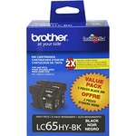 Brother High Yield Black Ink Cartridge BRTLC652PKS