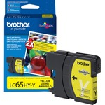 Brother High Yield Yellow Ink Cartridge BRTLC65HYY