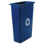 Rubbermaid Slim Jim Recycling Container RCP354075BE