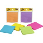 Post-it Super Sticky Lined Notes in Assorted Bright Colors MMM4490SSMX