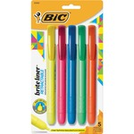 BIC Retractable Highlighter BICBLRP51AST