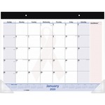 At-A-Glance QuickNotes Breast Cancer Awareness Desk Pad Calendar AAGSKPN7000