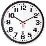 SKILCRAFT SKILCRAFT Black Body SelfSet Wall Clock NSN5573148
