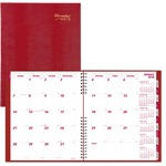Brownline Brownline Coilpro Fourteen Months Planner REDCB1262CRED