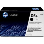 HP 05A Black Original LaserJet Toner Cartridge HEWCE505A