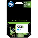 HP 564XL Ink Cartridge - Cyan HEWCB323WN