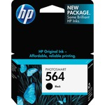HP 564 Ink Cartridge - Black HEWCB316WN