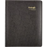 Brownline EcoLogix Monthly Planner REDCB435WBLK