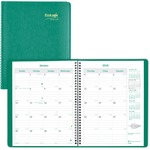 Brownline EcoLogix Monthly Planner REDCB435WGRN