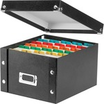 IdeaStream Idea Stream Snap-N-Store Index Card Box with Label Holder IDESNS01647