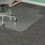 Lorell Diamond Anti-static Chair Mat LLR25750
