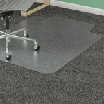 Lorell Diamond Anti-static Chair Mat LLR25752