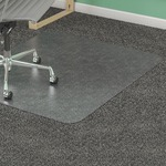 Lorell Diamond Anti-static Chair Mat LLR25753