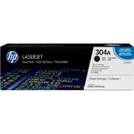 HP 304A Dual Pack Toner Cartridge - Black HEWCC530AD