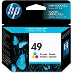 HP 49 Ink Cartridge - Multicolor HEW51649A