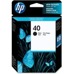 HP 40 Ink Cartridge - Black HEW51640A