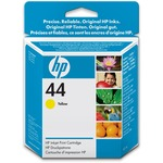 HP 44 Ink Cartridge - Yellow HEW51644Y