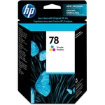 HP 78 Tri-color Original Ink Cartridge HEWC6578DN