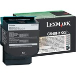 Lexmark Return High Capacity Black Toner Cartridge LEXC540H1KG