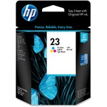 HP 23 Tri-color Original Ink Cartridge HEWC1823D