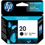 HP 20 Ink Cartridge - Black HEWC6614D