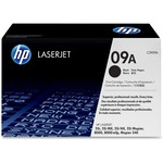 HP 09A Black Original LaserJet Toner Cartridge HEWC3909A